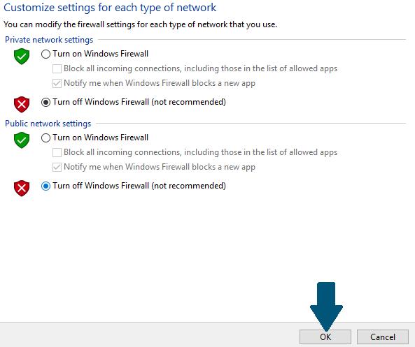 Tắt tường lửa Windows 10 thông qua Control Panel - Ảnh 5