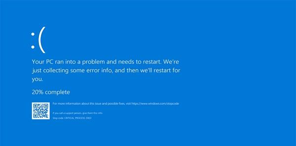 Lỗi màn hình xanh