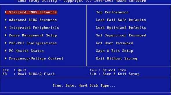 BIOS là gì trên máy tính