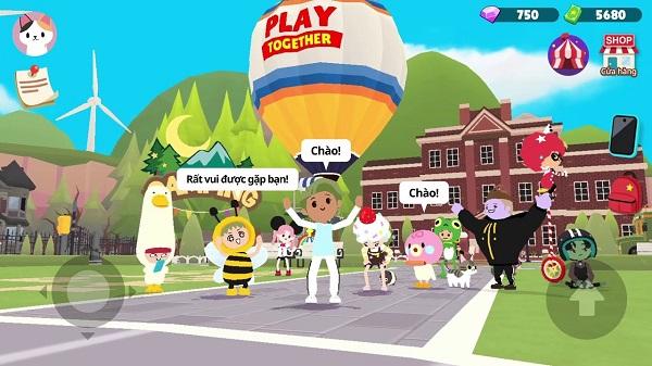 Cảnh báo lừa đảo trong game Play Together
