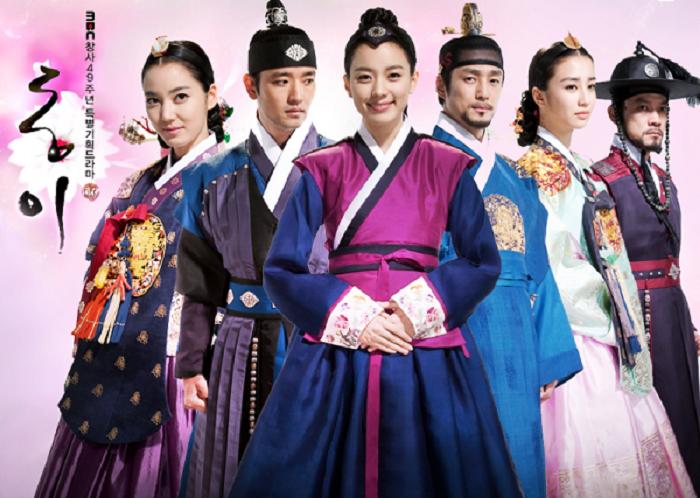 Phim cổ trang Chuyện nàng Dong Yi