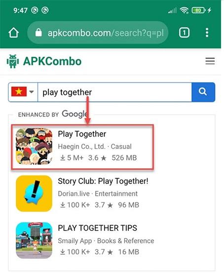 Tải Play Together APK với APKCombo.com