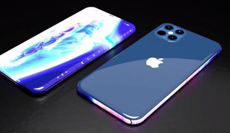 Thiết kế mặt ốp sống lưng của iphone 13 tím