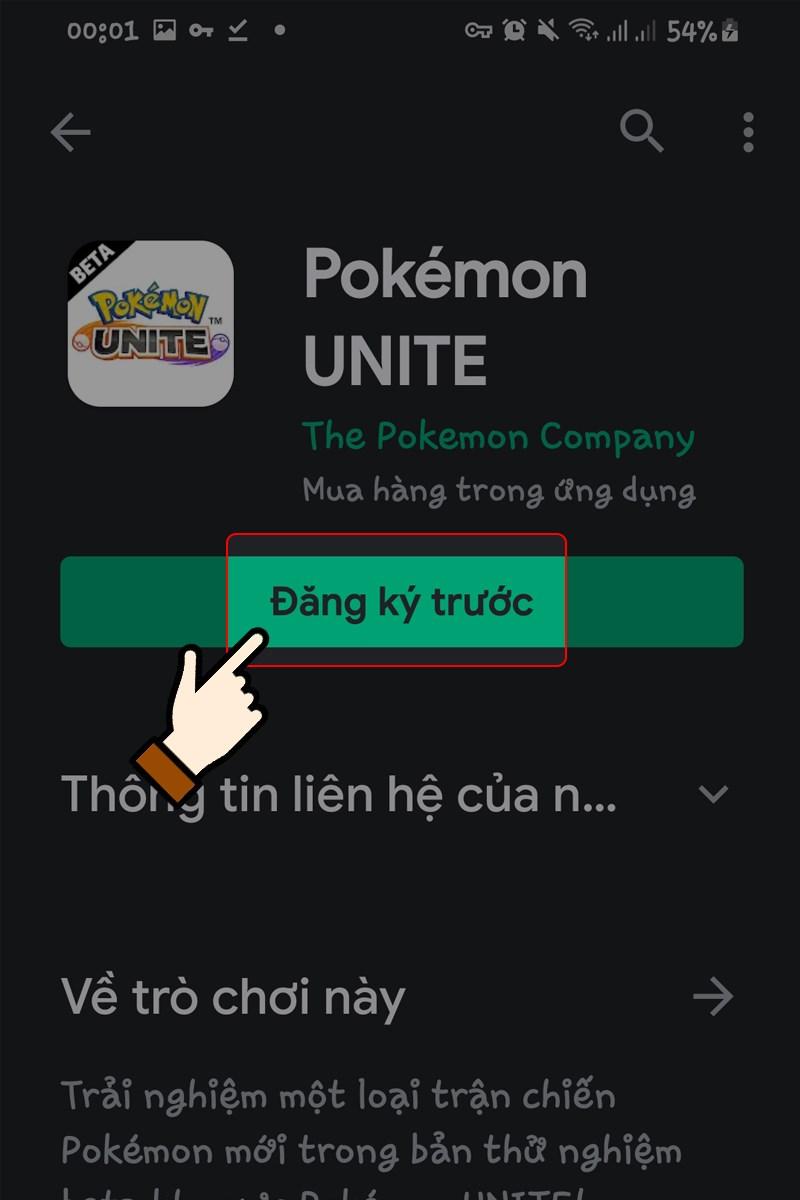 cách tải pokemon unite cho android