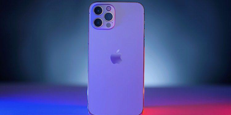 Concept iPhone 13 màu tím